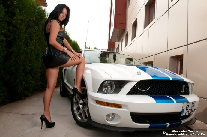 Shelby GT500 & Roxana Ionescu www.AmericanMuscleCars.Ro (1)
