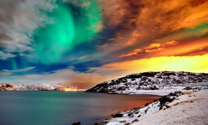 hammerfest-northern-lights